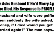 Wife Asks Husband If He'd Marry Again If She Died, His Response Is PRICELESS!