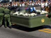Internet ERUPTS After Something HILARIOUS Happens To Castro At Funeral