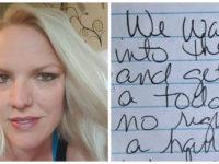 Stranger Shames Mother For Parking In Handicapped Spot, Her Response Will Break Your Heart…