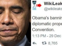 JUST IN: Obama Gets BAD NEWS After Booting Out Russians, Check Out This WikiLeaks BOMBSHELL