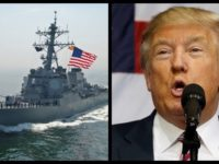 After Trump Said Iranians Would Be Blown Out Of Water, US Navy Opens Fire …