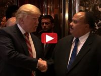 WATCH: After Meeting With Trump, Martin Luther King III Makes BIG Announcement To Reporters