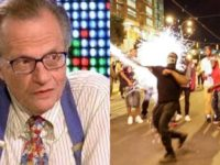 Larry King REVEALS What Trump Protesters Did To Him… This Is Absolutely SICK