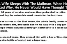 Woman Sleeps With This Mailman But The Reason Will Have You Howling!