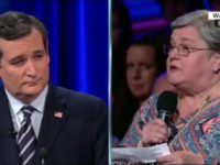 Internet ERUPTS After People Spot Something STRANGE In Audience During Cruz/Sanders Debate- Did You Catch This? [VID]