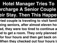 Hotel Manager Tries To Overcharge A Senior Couple For Their Stay, Then THIS Happens! PRICELESS!!!