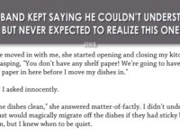 This Husband Kept Saying He Couldn't Understand His Wife… But He Never Expected To Realize THIS!