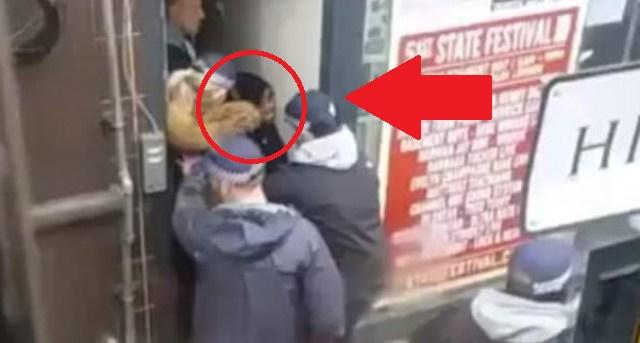 WATCH: Police SHOOT Muslim In Anti-Terrorism RAID- Then She Screams These 7 SICK Words