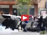 Watch As An Armored RIOT CONTROL Vehicle Plows Through Protesters [Video]