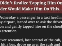 She Didn't Realize Tapping Him On The Shoulder Would Make Him Do This… Wow!