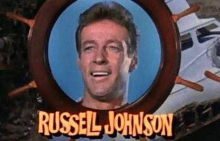 RUSSELL JOHNSON ,'THE PROFESSOR' ON GILLIGAN'S ISLAND DIES AT 89