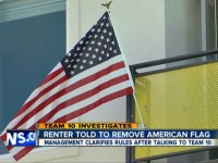 COLLEGE STUDENT FORCED TO REMOVE AMERICAN FLAG FROM BALCONY, 'COULD OFFEND FOREIGN PEOPLE!'