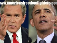 BUSH WAS RIGHT AND OBAMA IS WRONG AS USUAL!