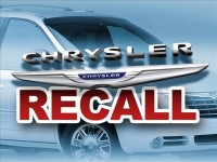 CHRYSLER TO RECALL ALMOST 350K VEHICLES
