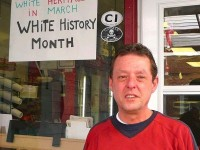 NJ Deli Outrages Blacks With 'WHITE HISTORY MONTH' Sign!