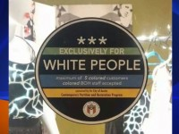 Here's Who Posted 'WHITES ONLY' Stickers On Store Windows In Texas! (Video)