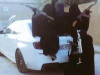 KEEPING UP WITH THE JIHADIS! ISIS Brides Post Pics Of BMWs, Babies, Burkas And Guns!