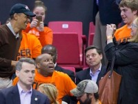 Obama Attends Basketball Game- Libs Chant '4 MORE YEARS!'-Sickening…