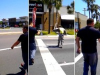 VIRAL VIDEO! 'TAKE OFF MY UNIFORM!' Veteran EXPLODES At Panhandling Fake!