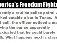 A Cop Stakes Out Drunk Drivers Outside A Bar… This Is HILARIOUS