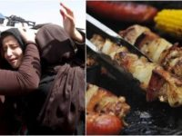 Muslims Serve Desperate STARVING Mother TASTY Meal — Then, Tell Her What's In It