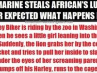 U.S. MARINE STEALS AFRICAN'S LUNCH, NEVER EXPECTED WHAT HAPPENS NEXT!