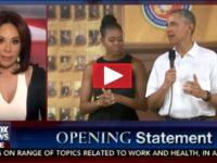 WHOA! Judge Jeannine Just SHREDDED Michelle Obama Live On National TV- Barack FUMING [VID]