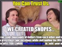 BREAKING: New Info Surfaces Showing Snopes CEO Hires Prostitutes And Doesn't Pay Taxes- SPREAD THIS