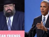 Rabbi Sends CLEAR Message To Obama That He Can't Ignore… Completely TRASHES Him