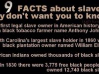 9 Facts About Slavery DESTROY Everything Obama Has Spewed… SPREAD THIS!