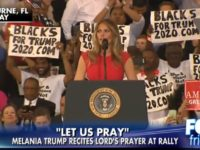 BREAKING: Look Who Just SLAMMED Liberals For Attacking Melania's Lord's Prayer [VID]