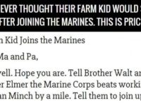 They Never Thought Their Farm Kid Would Say THIS About Marine Corps… The Ending Is A Total Surprise!