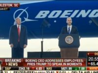 BREAKING: Something STRANGE Happened As Trump Took The Stage At Boeing Plant, Media SILENT