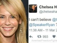 DISGUSTING Liberal Comedian Chelsea Handler Takes To Twitter And SEXUALLY TRASHES Ted Cruz's Wife… IMMEDIATELY BACKFIRES