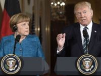 Internet ERUPTS After People See What Trump Said To Merkel During Presser- Did You Catch It?