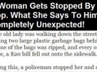 A Woman Gets Stopped By A Cop. What She Says To Him Is Completely Unexpected!