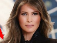 Internet EXPLODES After People See Something EPIC In Melania's Official W.H. Photo