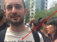 Leftist T-Shirt During 'May Day' March Creates OUTRAGE After It Shows ISIS BEHEADING The…