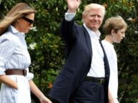 President Trump And Family Make First Visit To Camp David And EVERYONE Notices 1 Thing After They Land