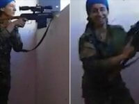 VIRAL VIDEO: Female Sniper Gets The Last Laugh After ISIS Tries To Shoot Her In The Head