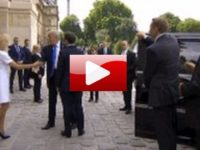 Liberals Are Absolutely FREAKING OUT Over What President Trump Did To French President's Wife