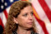 Rep. Debbie Wasserman Schultz (R-Fla.) addresses reporters after a democratic conference meeting on Wednesday, April 27, 2016 about .