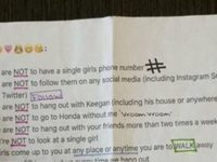 Girl Gives Her BF List Of 'Rules' – INSTANTLY GOES VIRAL When People Notice Something…