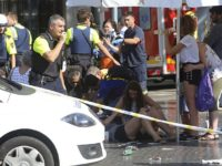 BREAKING: OFFICERS DOWN From ANOTHER Car Attack In Barcelona AFTER Deadly Van Attack