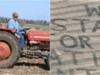"SEE IT! Farmer Literally Sends The Biggest ""F YOU"" Ever To The NFL… It's LEGENDARY"