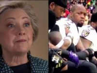 JUST IN: Hillary Clinton FINALLY Weighs In On NFL Scumbags Kneeling… Leaves MILLIONS In Shock