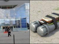 BREAKING: IMPROVISED BOMB FOUND OUTSIDE FOOTBALL STADIUM