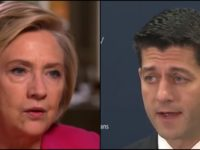 BREAKING: PAUL RYAN SIDES WITH HILLARY CLINTON ON GUNS AFTER VEGAS