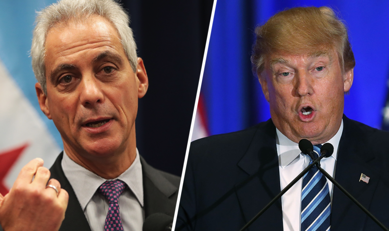 BREAKING: Rahm Emmanuel Calls In UN SOLDIERS To Fight Trump's FEDS…THIS IS WAR!!!