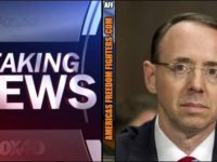 BREAKING: Secret Memo Reveals Why Rosenstein Was EAGER To Appoint Special Counsel… It's REALLY BAD